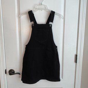 Forever 21 jean jumper dress black S  Never Worn!